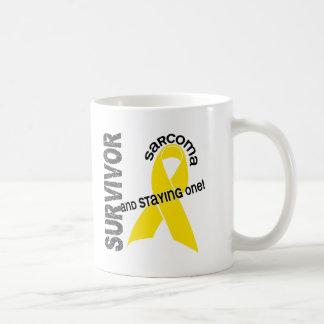 Sarcoma Survivor Basic White Mug