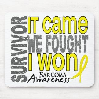 Sarcoma Survivor It Came We Fought I Won Mouse Pad