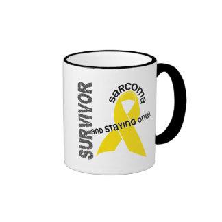 Sarcoma Survivor Ringer Mug
