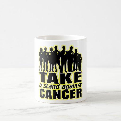 Sarcoma -Take A Stand Against Cancer Coffee Mugs