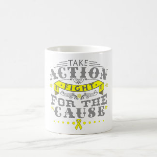 Sarcoma Take Action Fight For The Cause Coffee Mugs