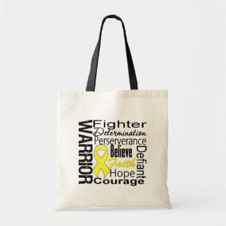 Sarcoma Warrior Collage Bag