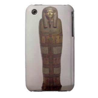 Sarcophagus of Nehemes Mentou, priest of Amon, Egy iPhone 3 Case