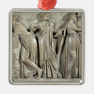 Sarcophagus of the Muses Christmas Ornament