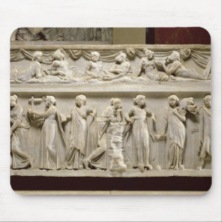 Sarcophagus of the Muses, Roman (marble) Mouse Mat