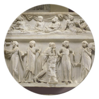 Sarcophagus of the Muses, Roman (marble) Plate