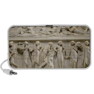 Sarcophagus of the Muses, Roman (marble) Travel Speakers