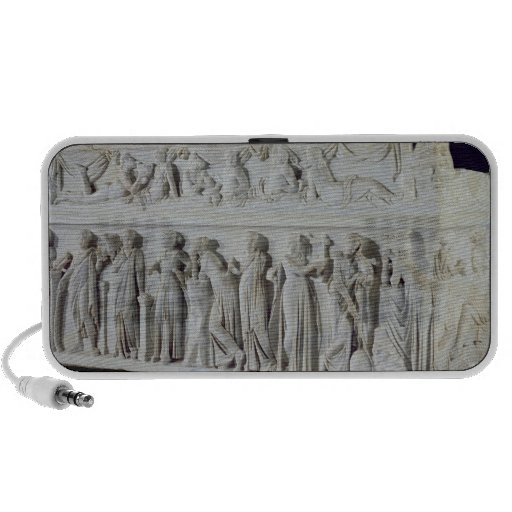 Sarcophagus with frieze of the Nine Muses Laptop Speakers