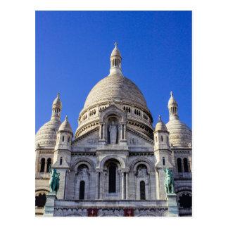 Sarcre Coeur Basilica In Paris, France Postcard