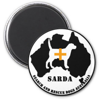 Sarda Search and Rescue Dogs Fridge Magnet