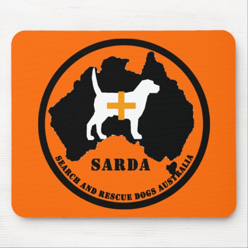Sarda Search and Rescue Dogs Mousepads
