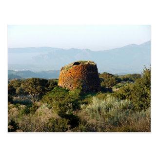 Sardegna, Nuraghe (postcard) Postcard