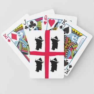 Sardinia, 4 volte poker deck