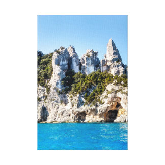 Sardinia, East Coast, near Cala Gonone Canvas Print