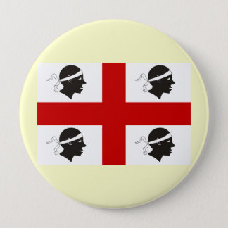 Sardinia, Italy 10 Cm Round Badge