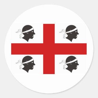 Sardinia, Italy Classic Round Sticker