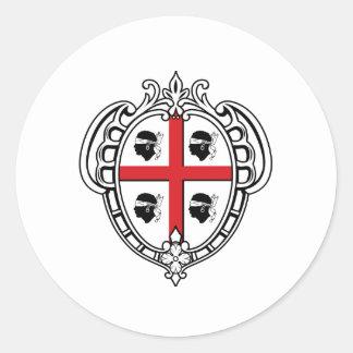 Sardinia (Italy) Coat of Arms Sticker