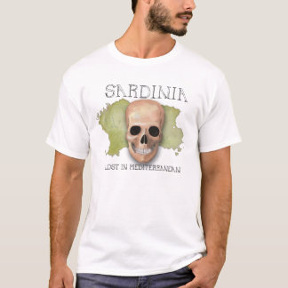 Sardinia, Lost in Mediterranean T-Shirt