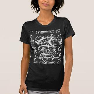 """Sardonic"" Bold Energetic Scribble Pattern Tshirt"