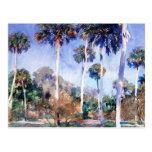 Sargent - Palms, a John Singer Sargent painting Postcard