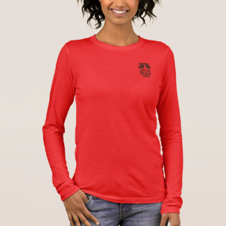 Sarita's Red Andean Bear Tshirt for Large Ladies