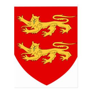 Sark Coat of Arms Postcard