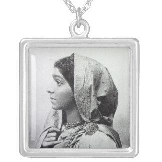 Sarojini Naidu Silver Plated Necklace