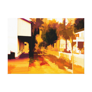 Sarona Center 5 Canvas Print