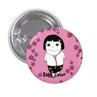 Sarong Girl button - customizable
