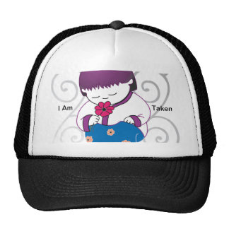 Sarong Girl -FlowerSwirl- Hat Cap