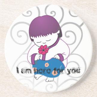 Sarong Girl - HereForYou- coasters