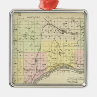 Sarpy County, Nebraska Christmas Ornament