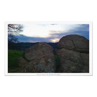 """Sarsen Stones,"" Nature Decor Art Photo"