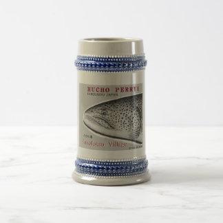 Saruhutsu village itou!  FISH ART JAPAN  < Beer Steins