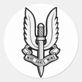 SAS Emblem Vinyl Sticker