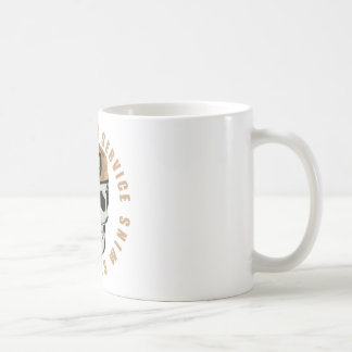 SAS Skull Basic White Mug