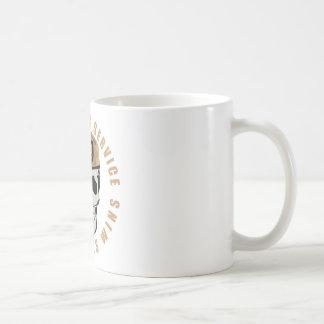 SAS Skull Classic White Coffee Mug