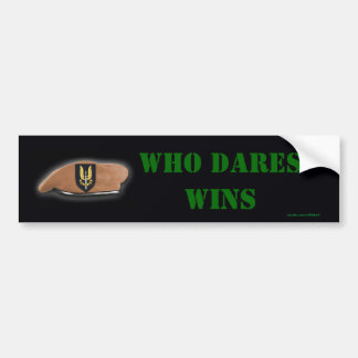 sas special air service veterans bumper sticker