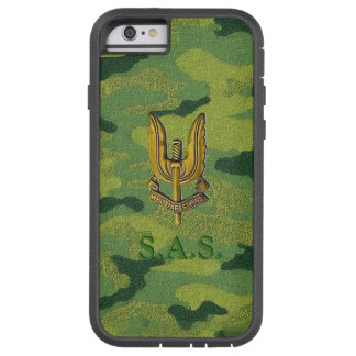 SAS Woodland-Camouflage Tough-Phone Tough Xtreme iPhone 6 Case
