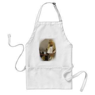 Sasha as a kitchen assistance standard apron