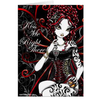 Sasha Fairy Valentines Day Card