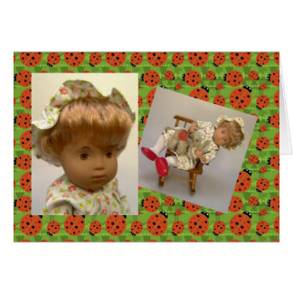 Sasha Morgenthaler doll map Card