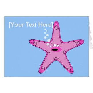 Sasha Starfish Greetings Card