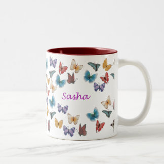 Sasha Two-Tone Coffee Mug