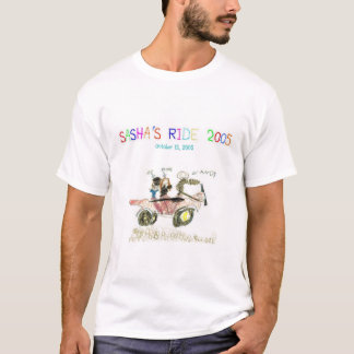Sasha's Ride 2005 T-Shirt