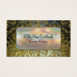 Sashee Elegant Baroque  Professional Business Card