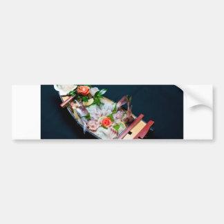 Sashimi Boat. Car Bumper Sticker