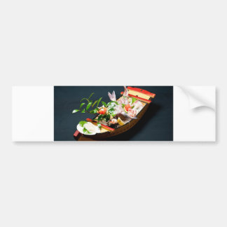 Sashimi Boat. Bumper Sticker