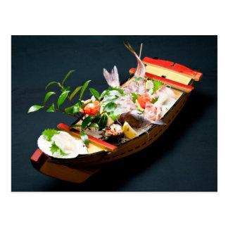 Sashimi Boat Post Cards
