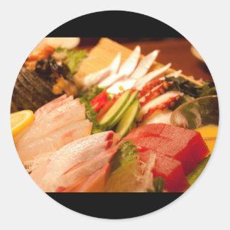 Sashimi in Japan Sticker